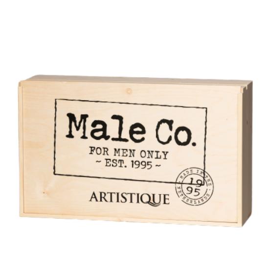 Male Co. Presentatiekist (excl producten)
