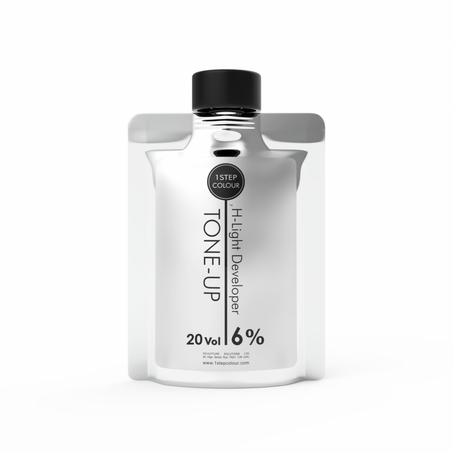 1 Step Colour Tone-up H-light Developer 20 vol. 400 ml