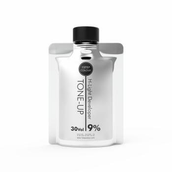 1 Step Colour Tone-up H-light Developer 30 vol. 400 ml
