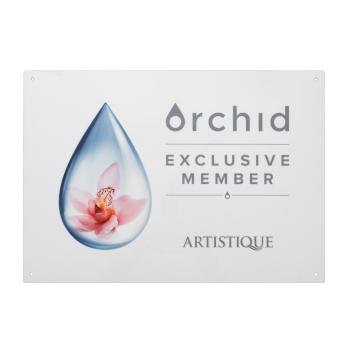 Orchid Memberbord deur